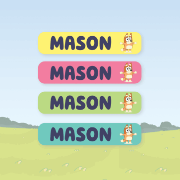 Name Labels - Bluey Small