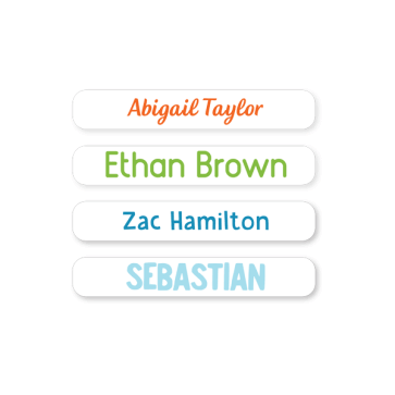 Name Labels - Basic Mini