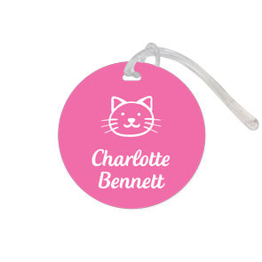 Bag Tag Round - Classic Large