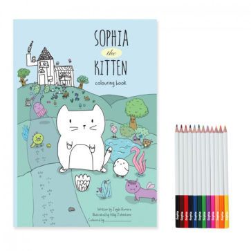 Personalised Story Book With Personalised Pencils