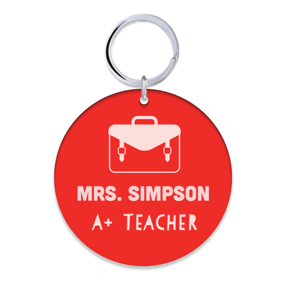 Teachers Key Ring