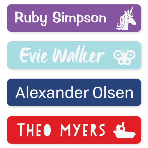 Name Labels - Classic Large