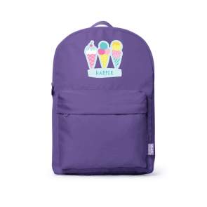 Large Backpack - Purple