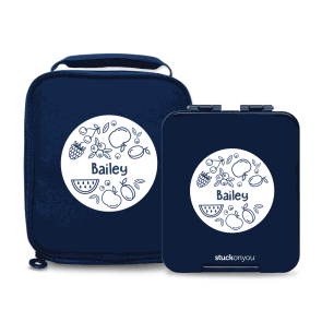 Mini Bento Box + Cooler Bag - Fresh Designs