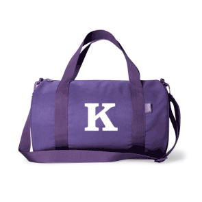 Monogram Duffle Bag - Purple