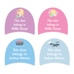 Shoe Labels - Kids Designer