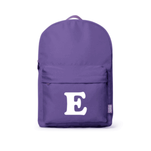 Monogram Large Backpack - Purple