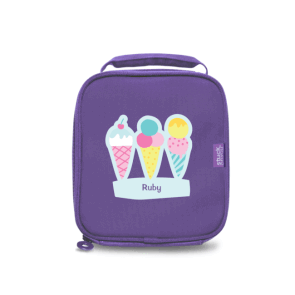 Mini Bento Cooler Bag Purple - Fun
