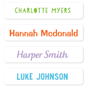 Name Labels - Basic Large