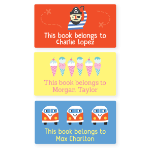 Book Labels - Designer