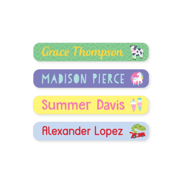 Name Labels - Designer Mini