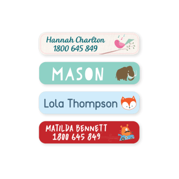 Name Labels - Designer Small