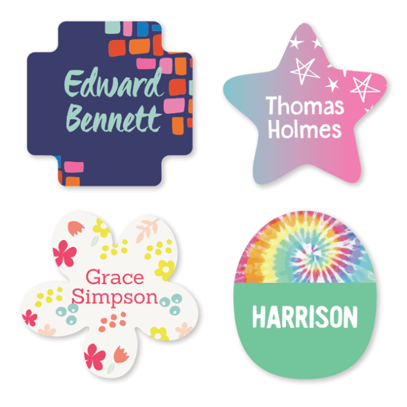 Name Labels - Pattern Shape