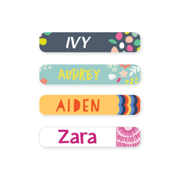 Iron On Labels - Pattern Small