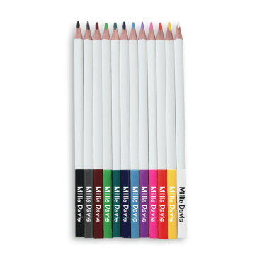 Personalized Coloring Pencils