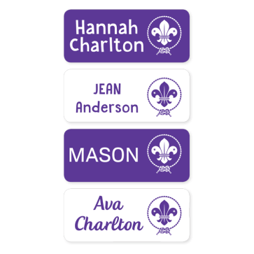 Scout Iron On Labels - Medium