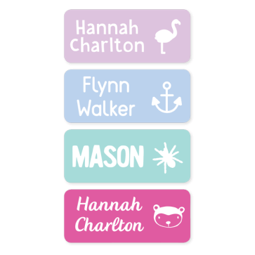 Name Labels - Classic Medium