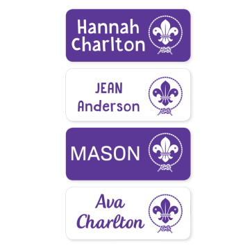 Scout Name Labels - Medium