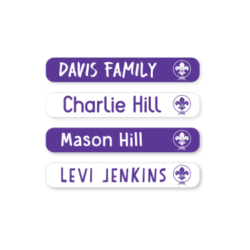 Scout Name Labels - Mini