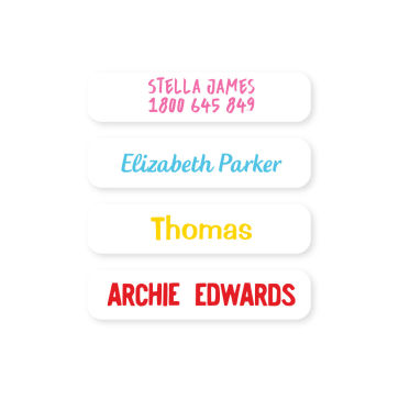 Name Labels - Basic Small