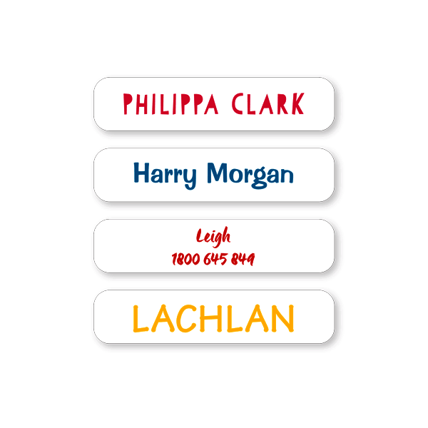 small labels