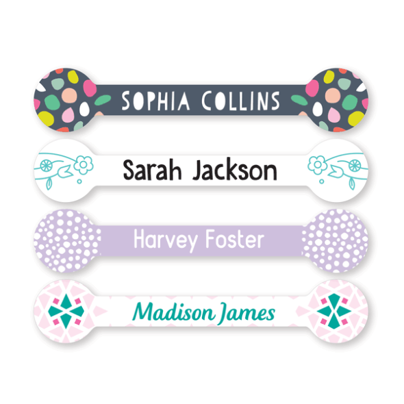 Name Labels - Pattern Flag
