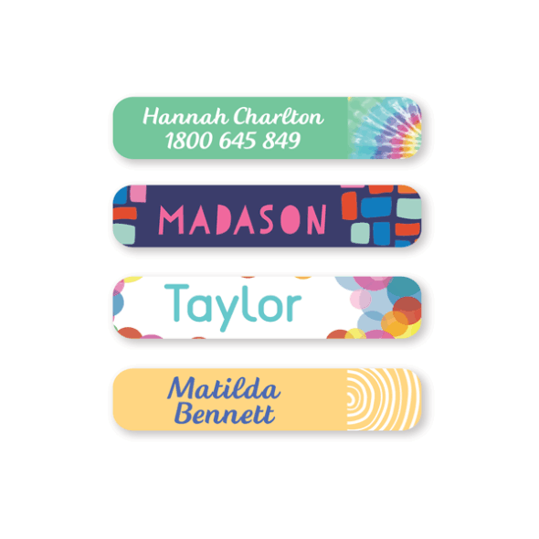 Name Labels - Pattern Small