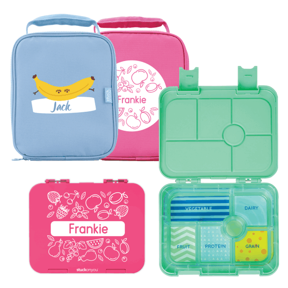 Double Bento Box & Bag - Fresh Designs