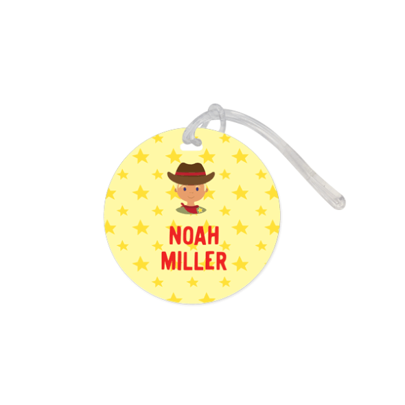 Bag Tag Round - Mini Me Small