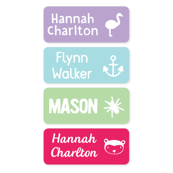 Name Labels - Medium (13 Pack)