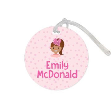 Bag Tag Round - Mini Me Large