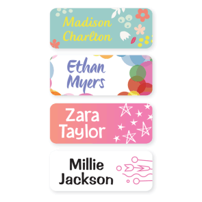 Multi Use Labels - Pattern Medium