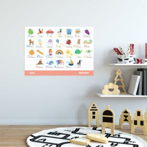 Educational Wall Poster - Alphabet