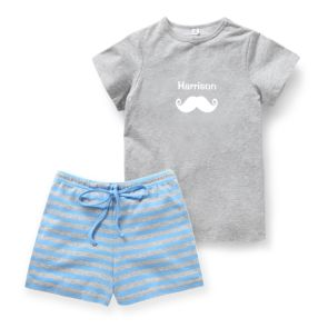 Summer Pyjama Set - Blue
