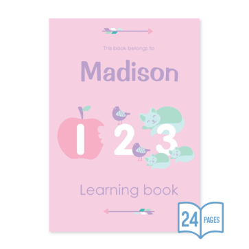 123 Learning Book