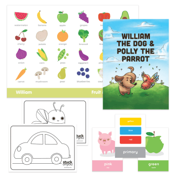 Toddler Activity Pack