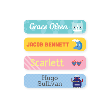 Multi Use Labels - Designer Small