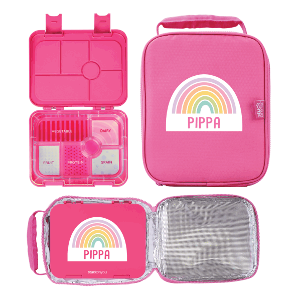 Bento Box + Cooler Bag - Fun Designs