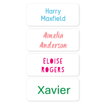 Name Labels - Basic Medium