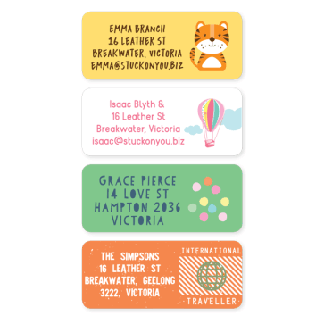 Address Labels Designer