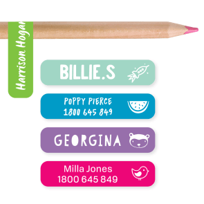 Name Labels - Classic Pencil