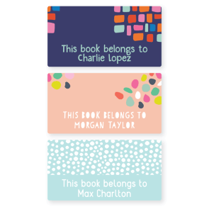 Book Labels - Pattern