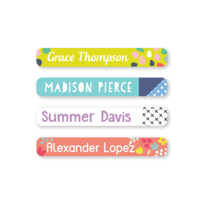 Name Labels - Pattern Mini