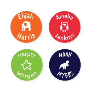 Multi Use Labels - Classic Round