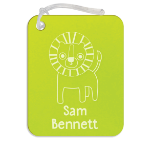 Designer Bag Tag Basic - Acrylic