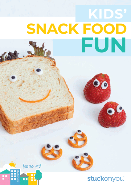 free ebook kids snack food fun