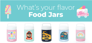 Kids food jars range