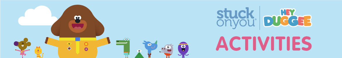 Hey Duggee Colouring-In and Activity Pages