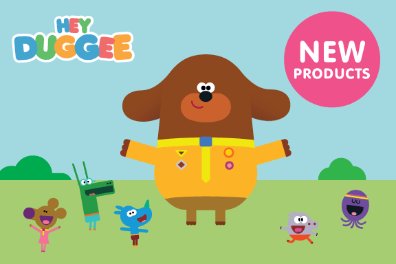 Hey Duggee Personalised Name Labels