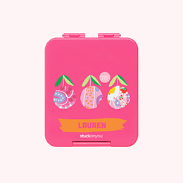 hot pink mini bento mothers day colab with isobell&co